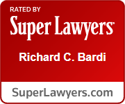 Rated By Super Lawyers Richard C. Bardi | SuperLawyers.com